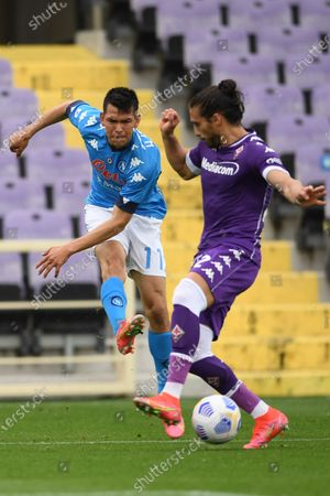 Editorial image of Soccer: Serie A 2020-2021 : Fiorentina   0-2 Napoli, Firenze, Italy - 16 May 2021