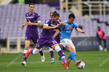 Editorial picture of Soccer: Serie A 2020-2021 : Fiorentina   0-2 Napoli, Firenze, Italy - 16 May 2021