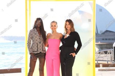 Rita Ora, Duckie Thot, Jesinta Franklin