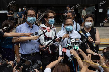 Editorial photo of Pro-democrats on trial in Hong Kong, China - 17 May 2021