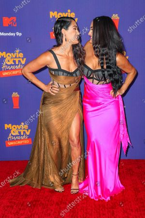 Editorial photo of MTV Movie & TV Awards: UNSCRIPTED, Arrivals, Los Angeles, California, USA - 17 May 2021