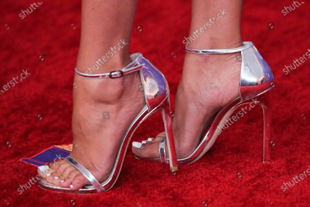 Heather Rae Young, shoe detail
