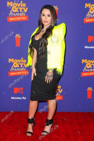 Editorial image of MTV Movie & TV Awards: UNSCRIPTED, Arrivals, Los Angeles, California, USA - 17 May 2021