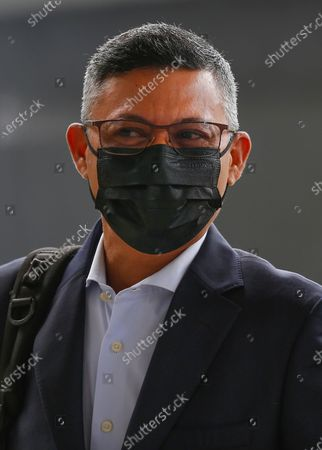 Stock Photo of Mohd Hazem Abdul Rahman, former chief executive officer of 1Malaysia Development Berhad and prosecution witness arrives at Kuala Lumpur Court Complex, Malaysia, 17 May 2021. Malaysian former Prime Minister Najib Razak face charges linked to the state-owned firm 1Malaysia Development Berhad (1MDB).