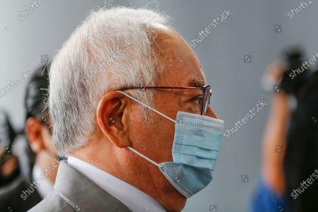 Stock Picture of Malaysia's former Prime minister Najib Razak wearing a mask arrives at Kuala Lumpur Court Complex, Malaysia, 17 May 2021. Najib Razak arrived at Kuala Lumpur High Court to face charges linked to the state-owned firm 1Malaysia Development Berhad (1MDB).