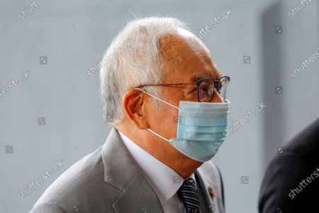 Editorial picture of Former Prime Minister Najib Razak trial in Kuala Lumpur, Malaysia - 17 May 2021
