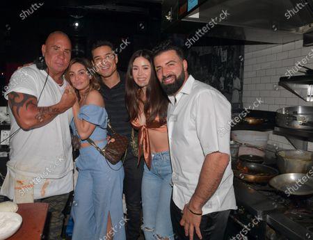 Steve Martorano, Mario Lopez, Courtney Mazza-Lopez