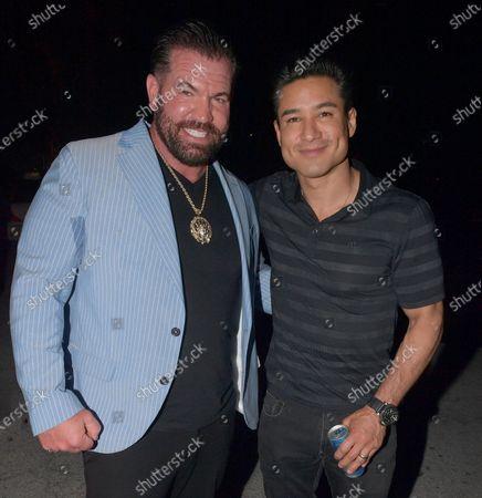 Bruce Soscia and Mario Lopez