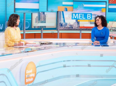 Stock Picture of Susanna Reid and Melanie Brown