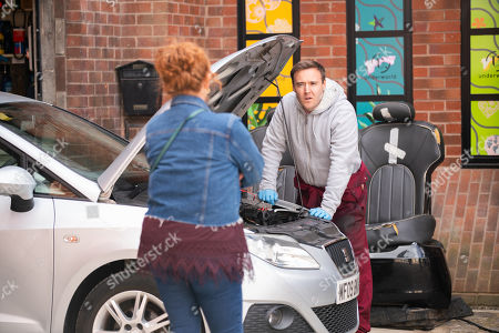Coronation Street - Ep 10331 & Ep 10332 Friday 21st May 2021 Emma reveals Tyrone Dobbs, as played by Alan Halsall, and Alina's plan to buy the salon flat to Fiz Stape, as played by Jennie McAlpine, how will she react?