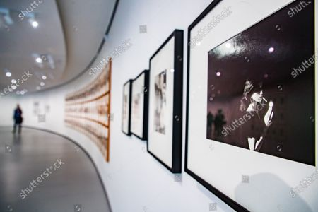 Photographs by US artist Cindy Sherman are exhibited at the 'Bourse de Commerce', a new venue dedicated to contemporary art created by French Businessman Francois Pinault in Paris, France, 14 May 2021 (issued 17 May 2021). The collection, an ensemble of over 10,000 works by almost 400 artists, features paintings, sculptures, videos, photographs, and installations and will be opened to public on 22 May 2021.