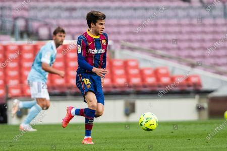 Stock Image of Riqui Puig of FC Barcelona