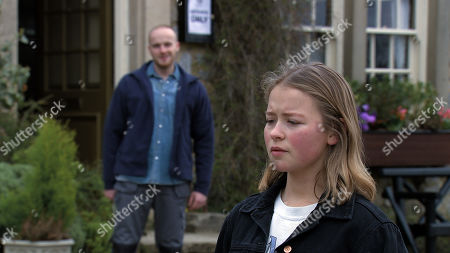 Emmerdale - Ep 9049 Monday 17th May 2021 With no booze at home Liv Flaherty, as played by Isobel Steele, tries the pub where she hooks with a sleazy stranger Max, as played by Will Barnett, whom she takes back home to Mill.