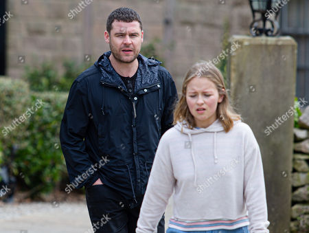 Emmerdale - Ep 9049 Monday 17th May 2021 Full of guilt Liv Flaherty, as played by Isobel Steele, can't stop drinking. Aaron Dingle, as played by Danny Miller, pleads with her to reach out to Vinny and talk to him again but she won't.