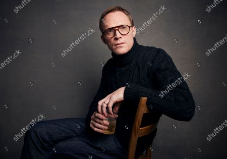 """Stock Picture of Paul Bettany poses for a portrait to promote the film """"Uncle Frank"""" during the Sundance Film Festival, in Park City, Utah. Bettany turns 50 on May 27"""
