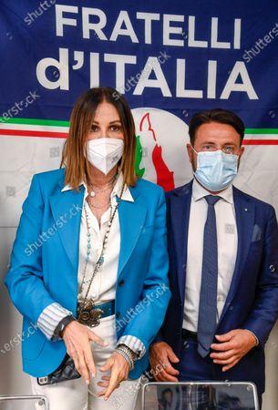 Paolo Franco and Daniela Santanche