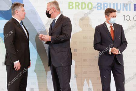 Editorial photo of Brdo-Brijuni Process summit in Brdo pri Kranju, Slovenia - 17 May 2021
