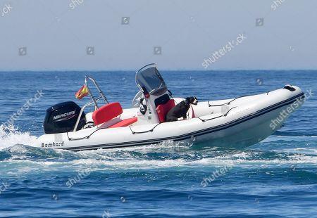 Coastguards rescue out of control Zodiac boat, Almunecar