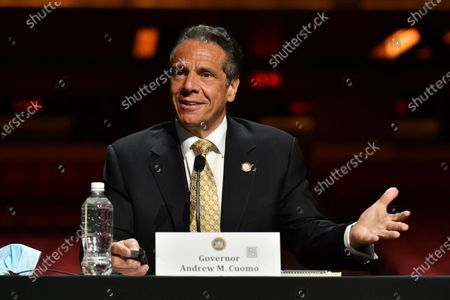 Governor Andrew Cuomo press conference, New York