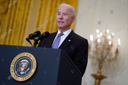 Biden delivers remarks on the COVID-19 response and vaccination progress, Washington DC