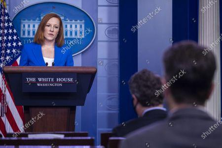 White House Press Secretary Jen Psaki daily briefing, Washington DC