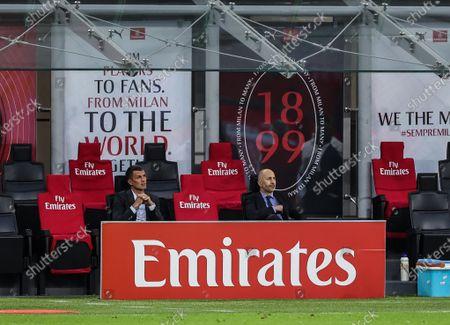 Editorial picture of AC Milan vs Cagliari Calcio in Milan, Italy - 16 May 2021