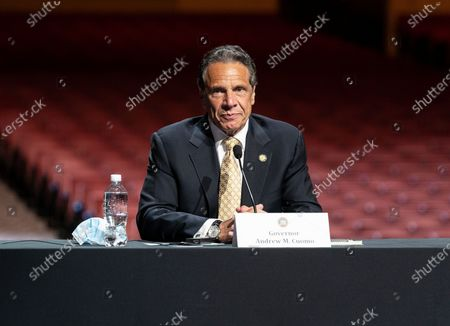 Governor Andrew Cuomo announced that the state adopts new CDC guidance and regulations at Radio City Music Hall. Effective May 19 New York State as well as Connecticut and New Jersey will adopt new CDC rules on masks and social distancing for vaccinated people. Governor also announced that the closing night of Tribeca Film Festival will be held at Radio City Music Hall with full capacity only for vaccinated people. Governor announced new rules for entertainment and sporting events, gatherings indoors and outdoors and urged people to get vaccinated. Governor stated that it is up to private companies to set additional restrictions as they like. CEO of MSG Entertainment James Dolan added that people who are vaccinated will get priority for attending events at the Garden. Joining Governor on these announcement were Executive Chairman and CEO Madison Square Garden Entertainment James Dolan, Interim CEO New York Road Runners Kerin Hempel, Co-Founder Tribeca Productions Jane Rosenthal, Director of the Budget Robert Mujica, Health Commissioner Howard Zucker