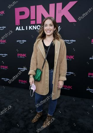 Editorial picture of Amazon Studios 'Pink: All I Know So Far' Premiere, Los Angeles, California, USA - 17 May 2021