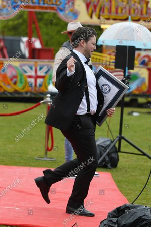 Editorial photo of Diags' 30th Birthday Party, Braxted Park Estate, Witham, Essex, UK - 13 May 2021