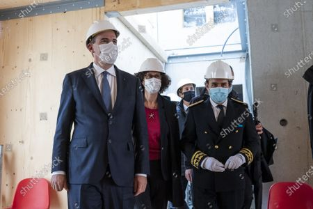 Editorial picture of Prime Minister Jean Castex visits construction site, Issy-les-Moulineaux, France - 17 May 2021