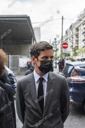 Editorial photo of Prime Minister Jean Castex visits construction site, Issy-les-Moulineaux, France - 17 May 2021