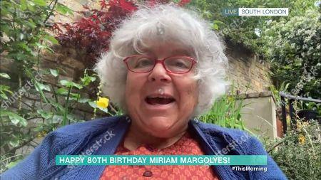 Stock Image of Miriam Margolyes