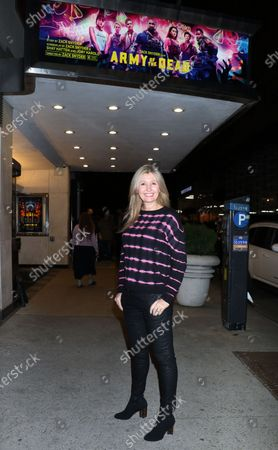 Editorial photo of 'Army of the Dead' film screening, Paris Theater, New York, USA - 17 May 2021