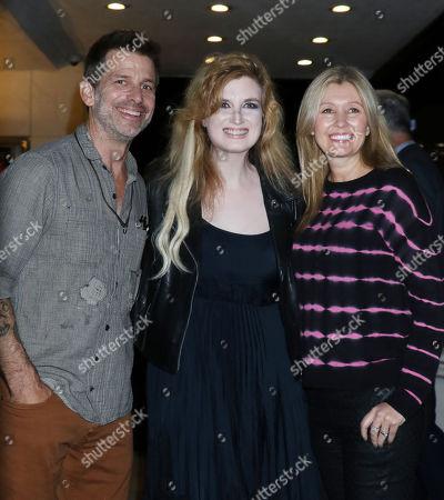 Zack Snyder, Grace Randolph and Deborah Snyder
