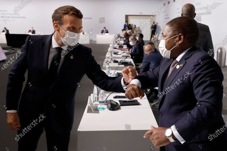 Editorial image of Financing of African Economies Summit in Paris, France - 18 May 2021