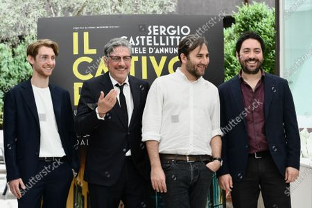 Editorial picture of 'The Bad Poet' film photocall, Rome, Italy - 18 May 2021