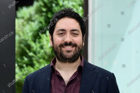 Producer Matteo Rovere poses for the photocall of the movie 'Il cattivo poeta'