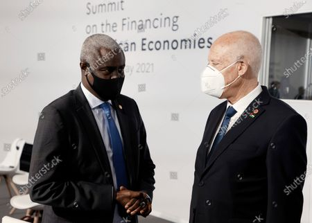 Editorial picture of Africa Summit, Paris, France - 18 May 2021