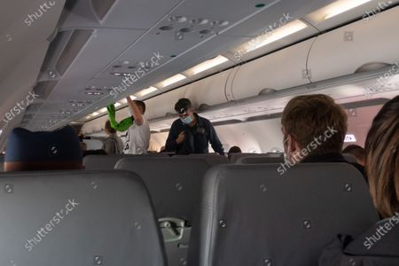 Editorial picture of Flying Lauda Airline During The Pandemic, Vienna, Italy - 12 Oct 2020