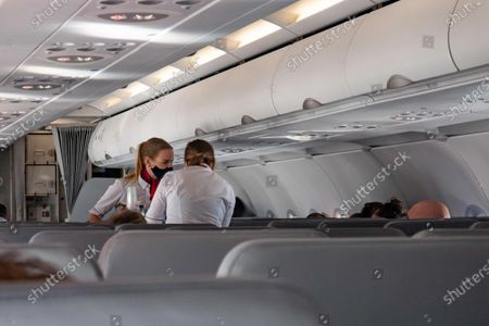 Editorial image of Flying Lauda Airline During The Pandemic, Vienna, Italy - 12 Oct 2020