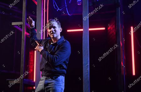 Jack Holden performs during the a photocall for the world premiere of 'Cruise' at the Duchess Theatre in London's West End, Britain, 18 May 2021. Britain is easing some coronavirus restrictions allowing indoor locations such as pubs, museums, galleries, cinemas, and adult group sports and exercise classes to reopen from 17 May. Also, legal restrictions on meeting others outdoors are lifted. British Prime Minister Johnson hopes to be able to lift the majority of COVID-19 rules by 21 June