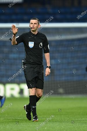 Referee Michael Oliver.