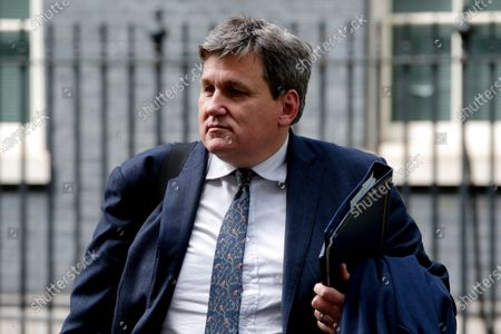 Minister for Crime and Policing Kit Malthouse, Conservative Party MP for North West Hampshire, outside 10 Downing Street in London, England, on May 18, 2021.