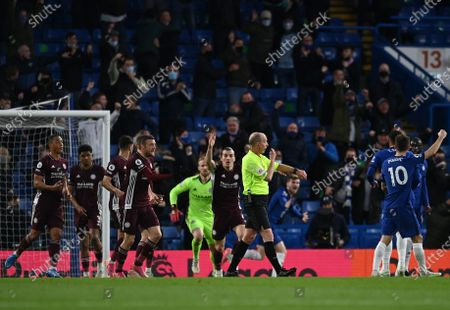 Editorial picture of Chelsea FC vs Leicester City, London, United Kingdom - 18 May 2021