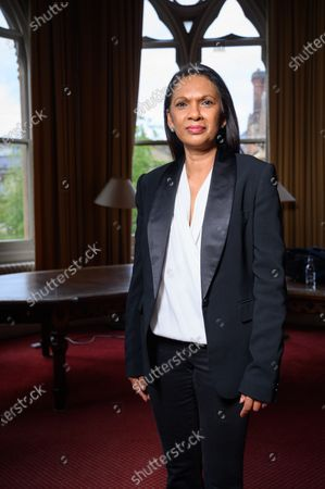 Stock Picture of Gina Miller speaks to students at the Oxford Union on the subject of 'Difficult Women'