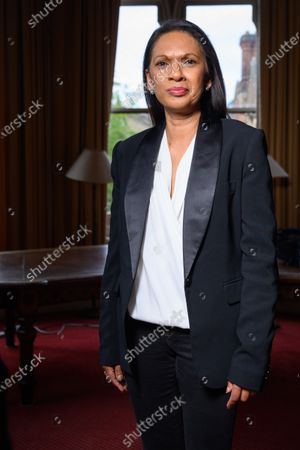 Editorial photo of Rachel Johnson and Gina Miller speak at Oxford Union, Oxford, UK - 18 May 2021