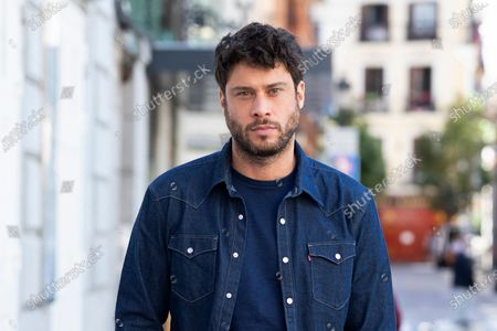 The actor Jose Lamuno poses during the portrait session in Madrid, Spain, on May 18, 2021.