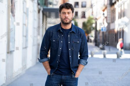 Stock Photo of The actor Jose Lamuno poses during the portrait session in Madrid, Spain, on May 18, 2021.