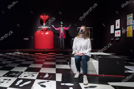 Editorial image of Alice: Curiouser And Curiouser Exhibition At V&A In London, United Kingdom - 18 May 2021