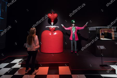 Editorial picture of Alice: Curiouser And Curiouser Exhibition At V&A In London, United Kingdom - 18 May 2021